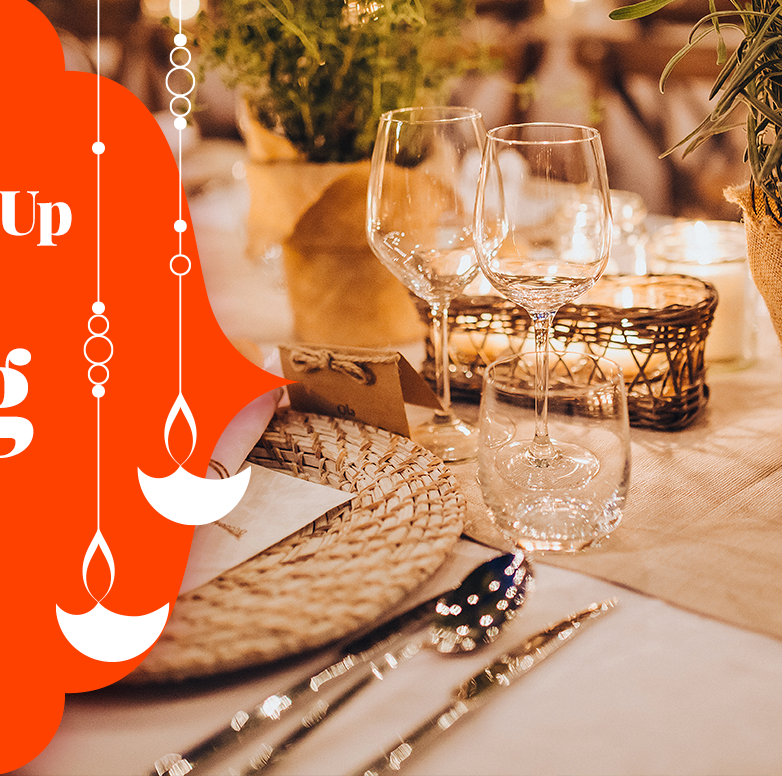 How to amp up your dining room for Diwali